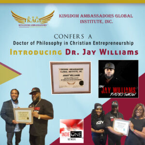 Dr. Jay Williams