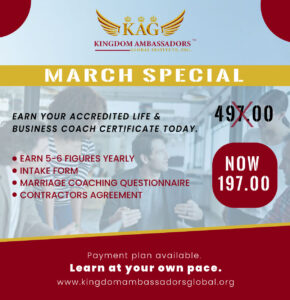 March Life Coaching Special